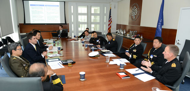 USIP Launches Roundtable Series with Asia-Pacific Naval Attaches