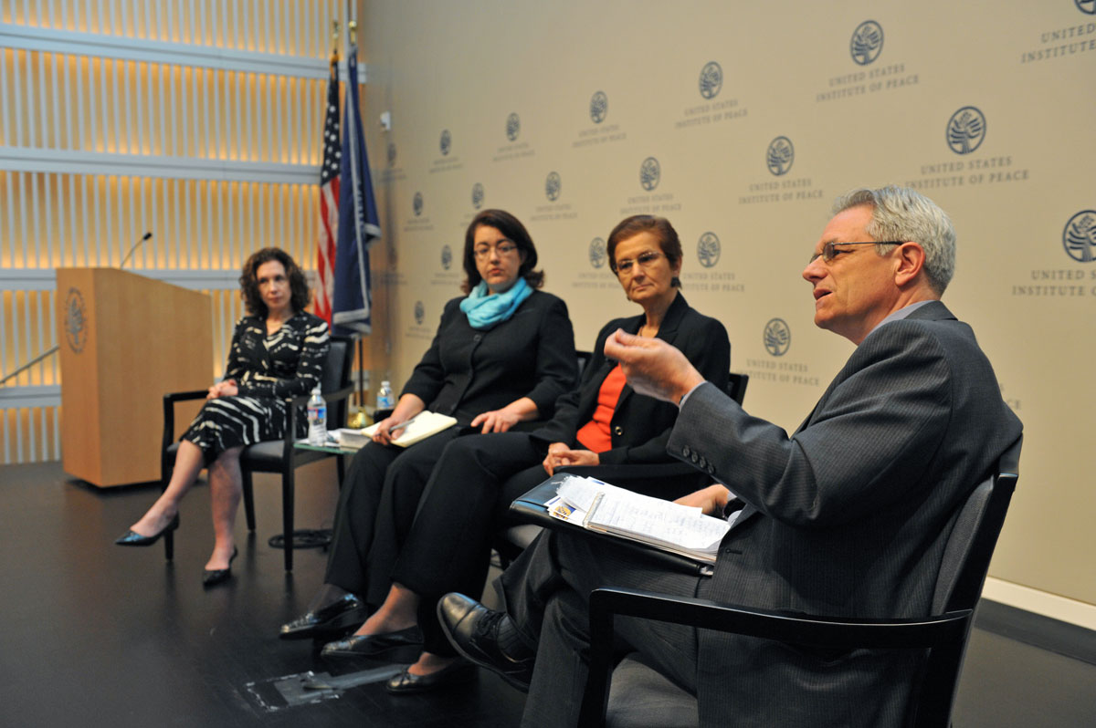 """usip gender and peacebuilding essay Over the past year, usip's gender and peacebuilding center of innovation has  hosted a series of events entitled """"the other side of gender this series of  events, which sought to broaden the gender lens and  summary."""