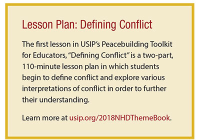 Lesson Plan: Defining Conflict