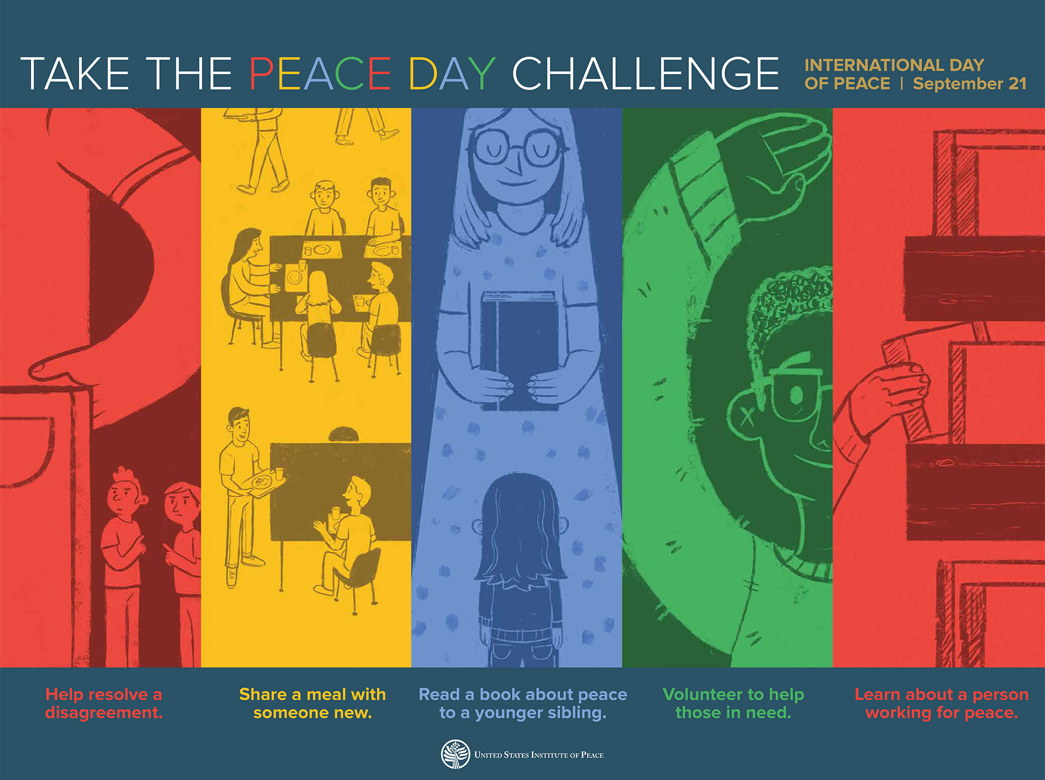 Poster Teaching Guide for the Peace Day Challenge