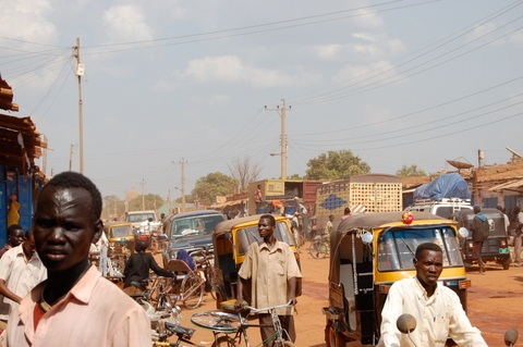 Street in Sudan (Photo Credit: Jeff Krentel/USIP)