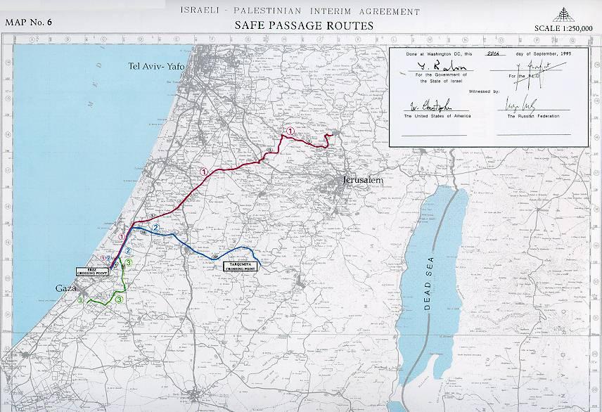 Peace Agreements Israel Palestine