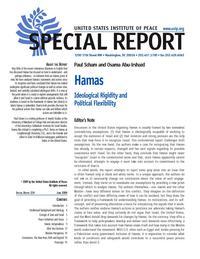 Hamas: Ideological Rigidity and Politcal Flexibility - SR224 (Image: USIP)