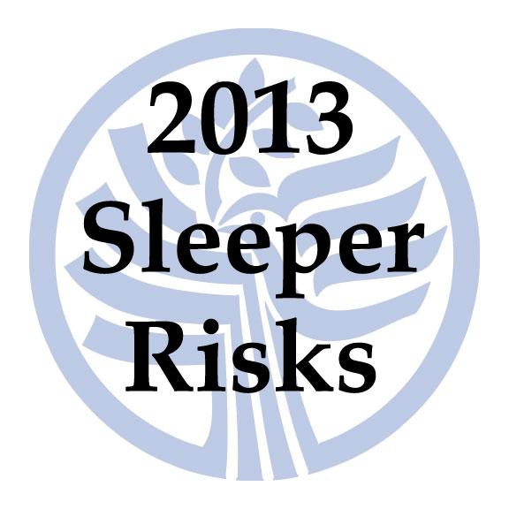 USIP Sleeper Risk Series
