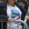 A nurse originally from Barrancabermeja, Colombia, who voted no on the FARC peace accord referendum, in New York, Oct. 2, 2016. Colombians in and around New York City voted in a referendum on a peace accord between the Colombian government and the country's largest rebel group, the Revolutionary Armed Forces of Colombia. The deal was narrowly rejected by voters (Jonah Markowitz/The New York Times)