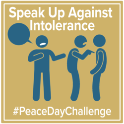 Peace Day Challenge-Speak Up