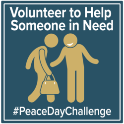 Peace Day Challenge - Volunteer
