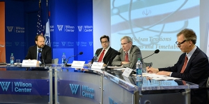 panelists at wilson center