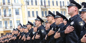 Kyiv Patrol Police Oath Ceremony, July 4, 2015