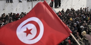 rally in tunisia