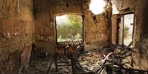 destroyed hospital