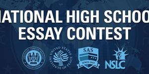 united states foreign service national high school essay Award amount $750-$2500 : deadline date march 01 : awards available 3 : description the united states foreign service national high school essay contest is open to.