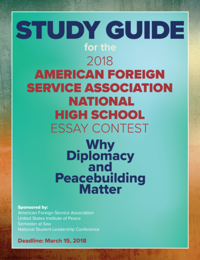 national high school essay contest united states institute of peace 20171130 essaycontest d4 cover png