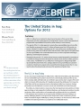 Peace Brief: The United States in Iraq: Options for 2012