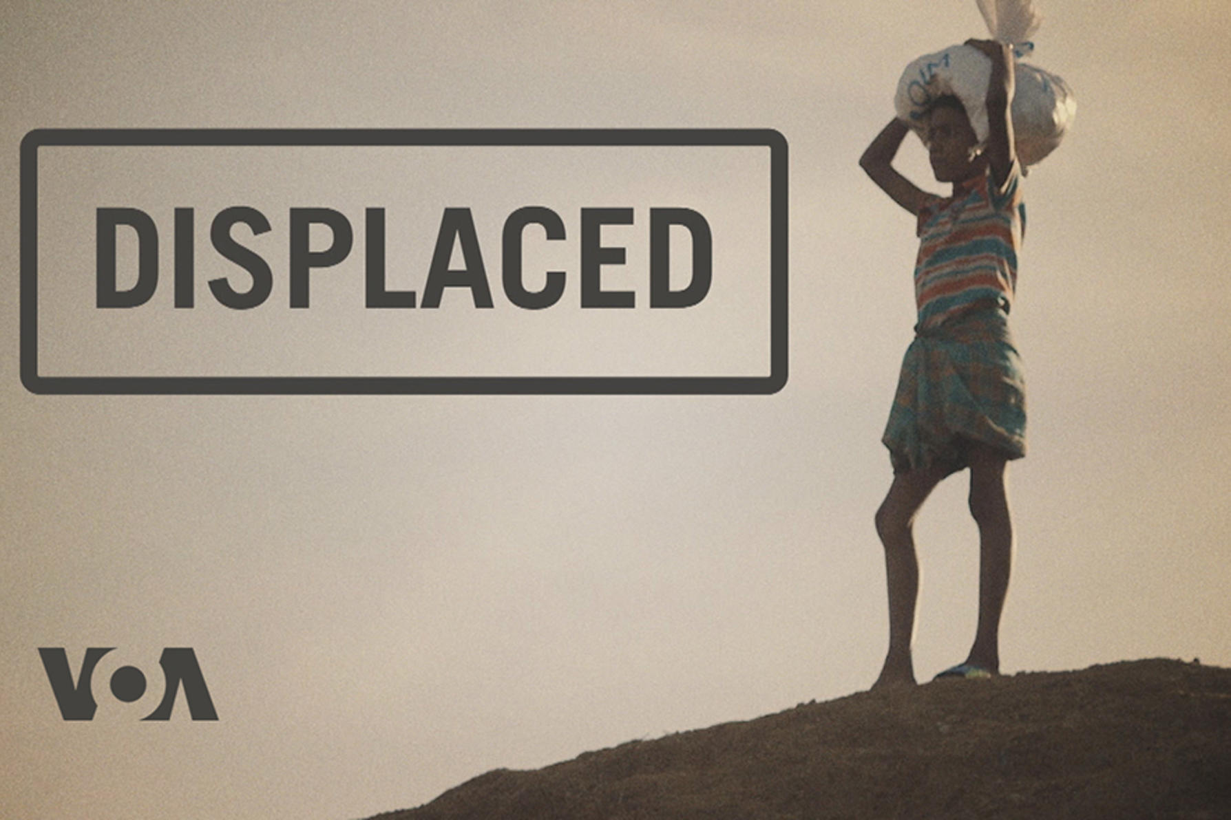 vOA displaced documentary graphic
