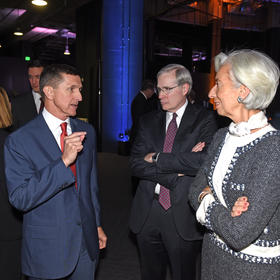 Michael Flynn, Stephen Hadley, Christine Lagarde