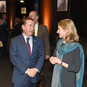 Congressman Ed Royce (R-CA) and Nancy Lindborg