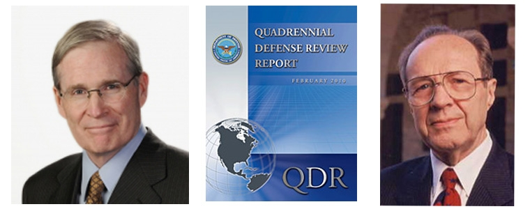 "William J. Perry and Stephen J. Hadley Testify on the ""Quadrennial Defense Review Independent Panel"""