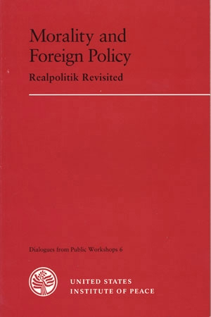 Morality and Foreign Policy book cover