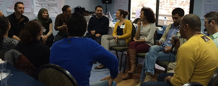 dialogue in Ramallah
