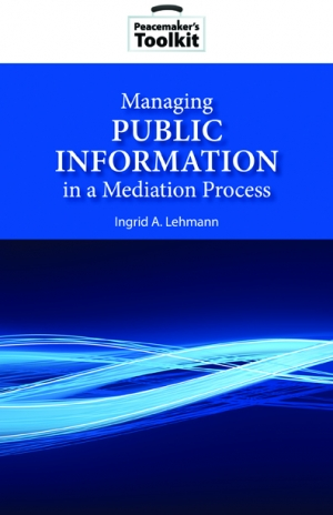 Managing Public Information Book Cover
