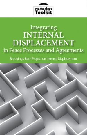 Integrating Internal Displacement in Peace Processes and Agreements Book Cover