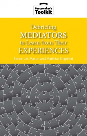 Debriefing Mediators Book Cover