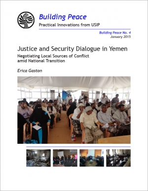 Justice and Security Dialogue in Yemen