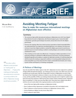 Peace Brief: Avoiding Meeting Fatigue