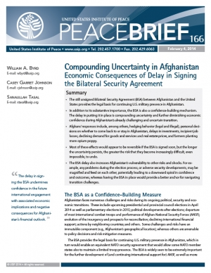 Compounding Uncertainty in Afghanistan cover