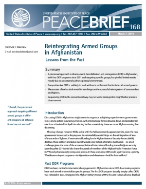peace brief 168 cover