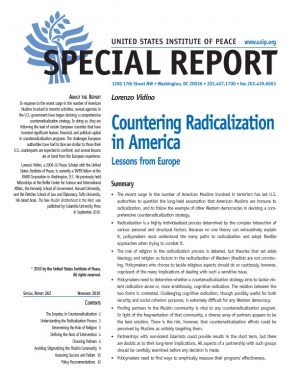 Special Report: Countering Radicalization in America