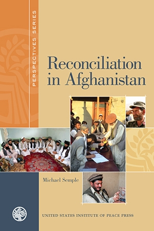 Reconciliation in Afghanistan book cover