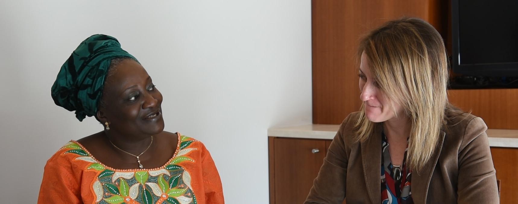 Pastor Ibanga and Susie Hayward