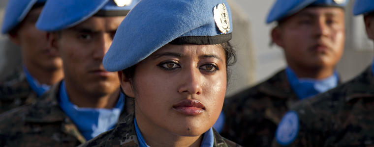 The Essential Role of Women Peacekeepers