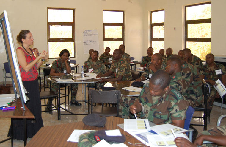Training of African Peacekeepers Set to Continue