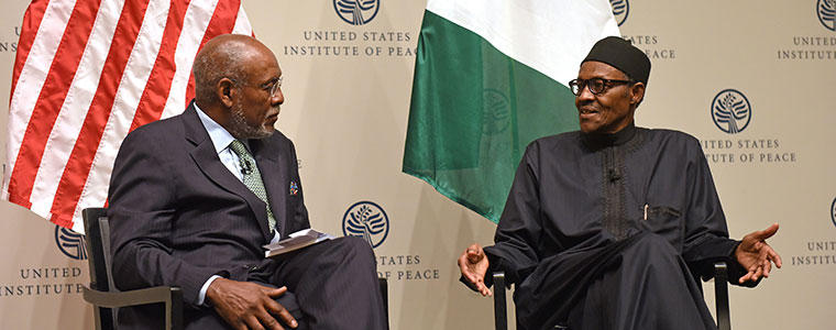 Image result for Carson and Buhari