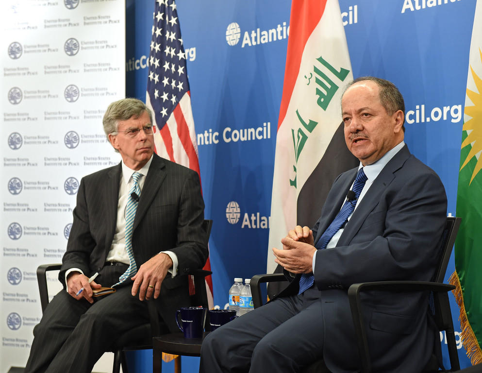 bill taylor and president barzani