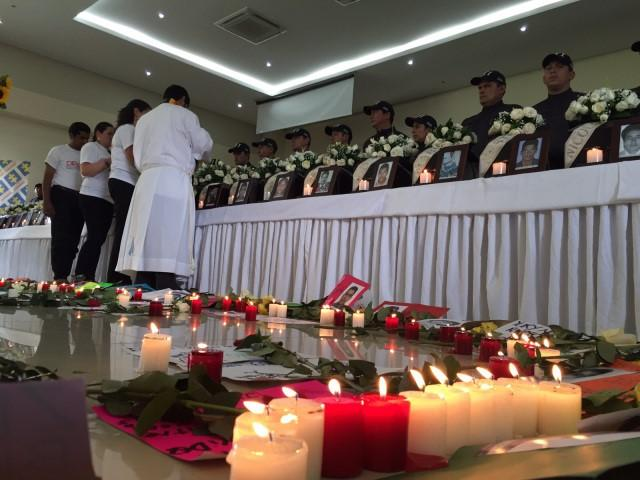 Ceremony for the Return of Remains of 29 Disappeared in December 2016.