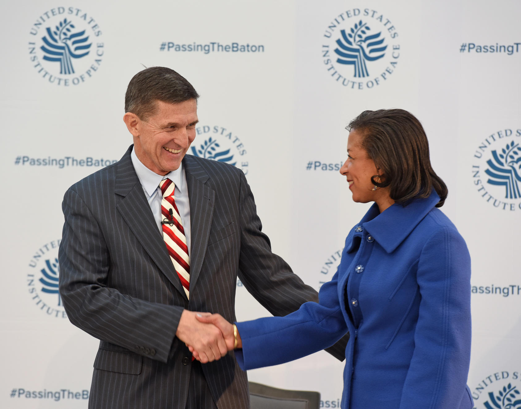 Lieutenant General Michael Flynn and Ambassador Susan Rice