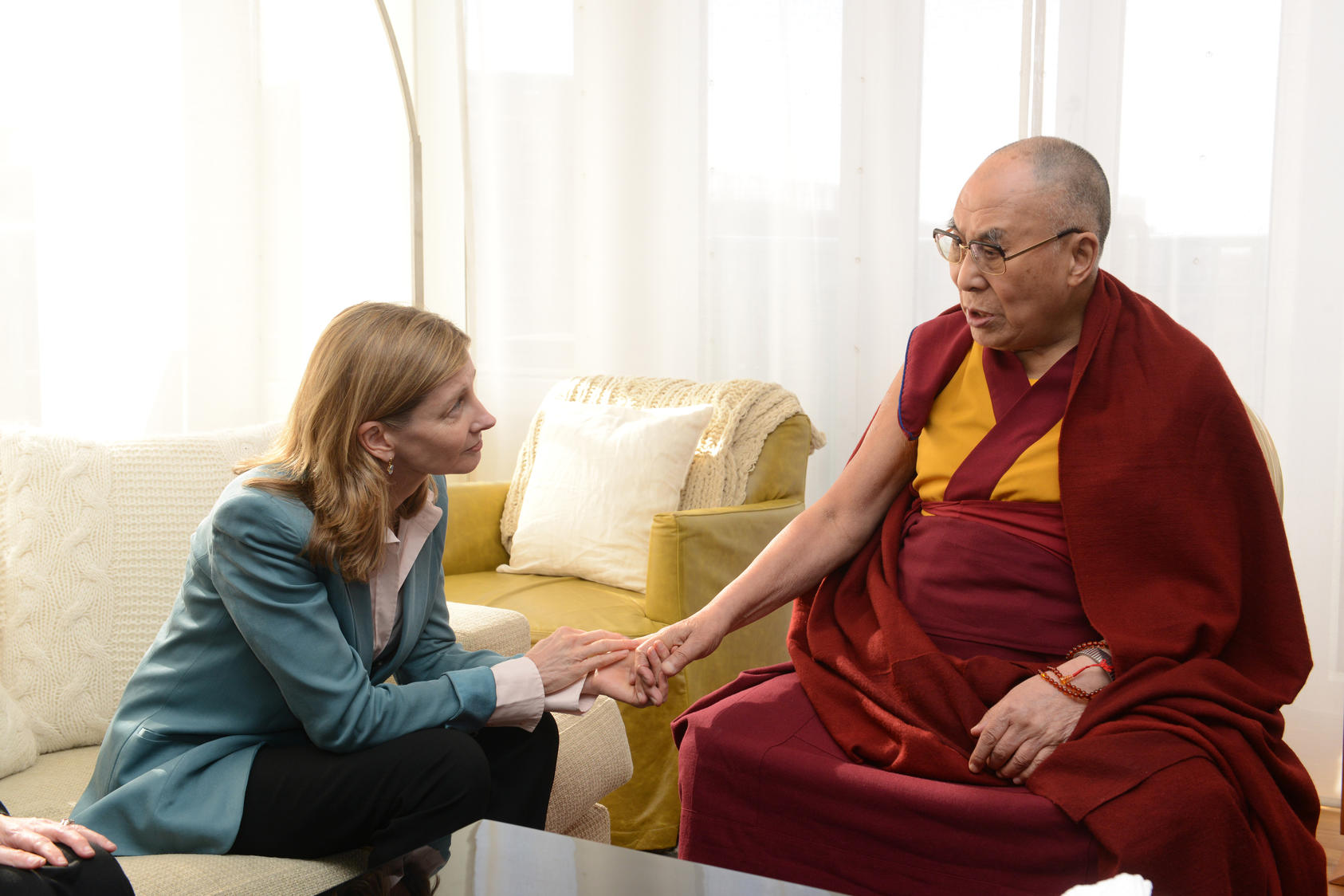 Lindorg and Dalai Lama