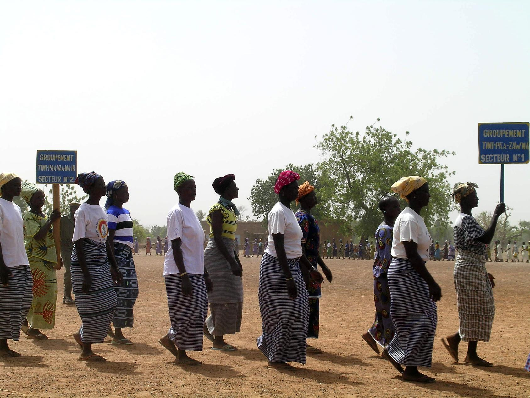International Women's Day 2008 in Korgnegane, Bougouriba Province in the Burkina Faso