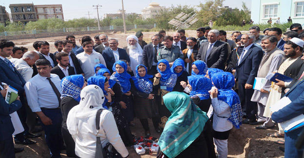 HU-Peace Park opening ceremony 21st of Sep, Peace Int. Day, students, faculties, 10 civil society organizations, government including governor of Herat province.