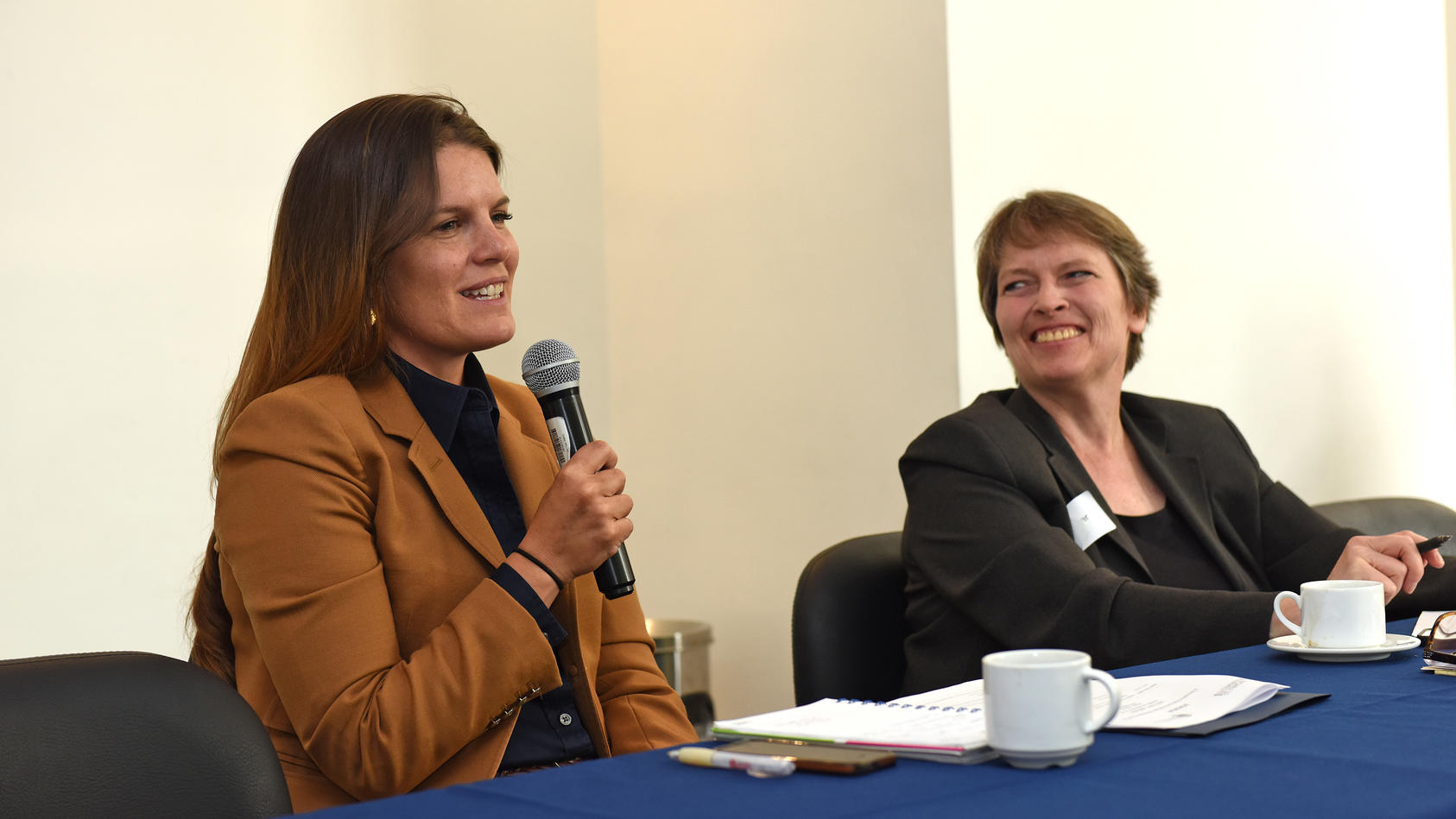 Hillery Midkiff and Ginny Bouvier, Colombia Network of Women Mediators