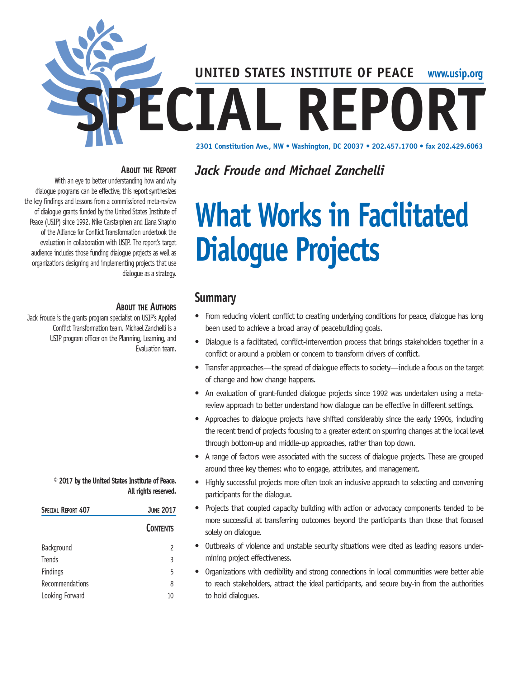 What works array what works in facilitated dialogue projects united states rh fandeluxe Images