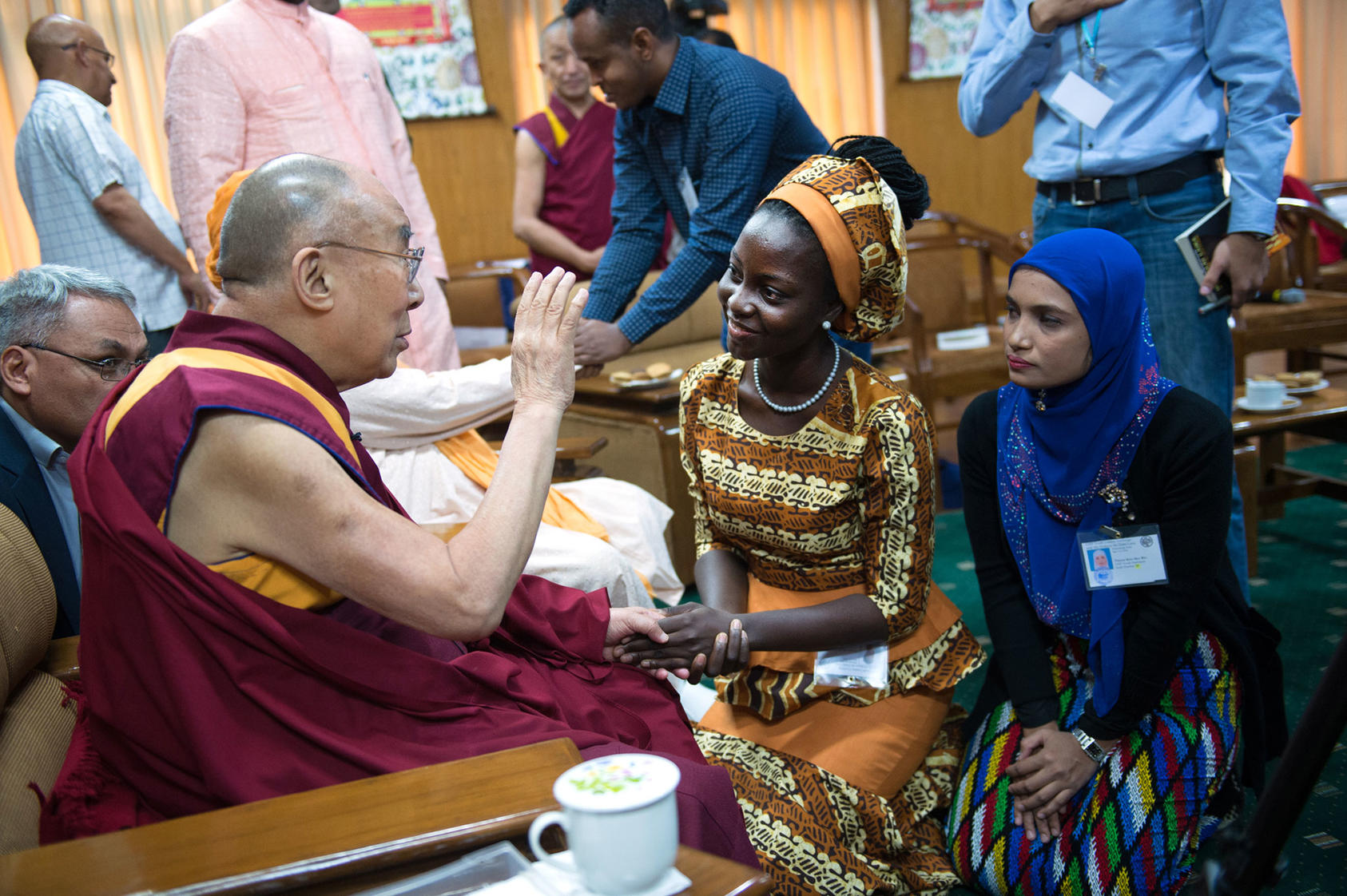 USIP Youth Leaders' Exchange with the Dalai Lama | United