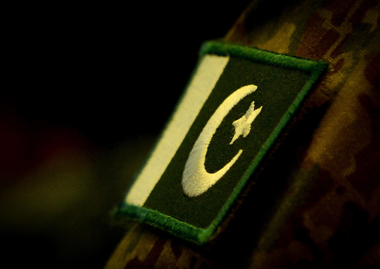 Pakistan Flag patch