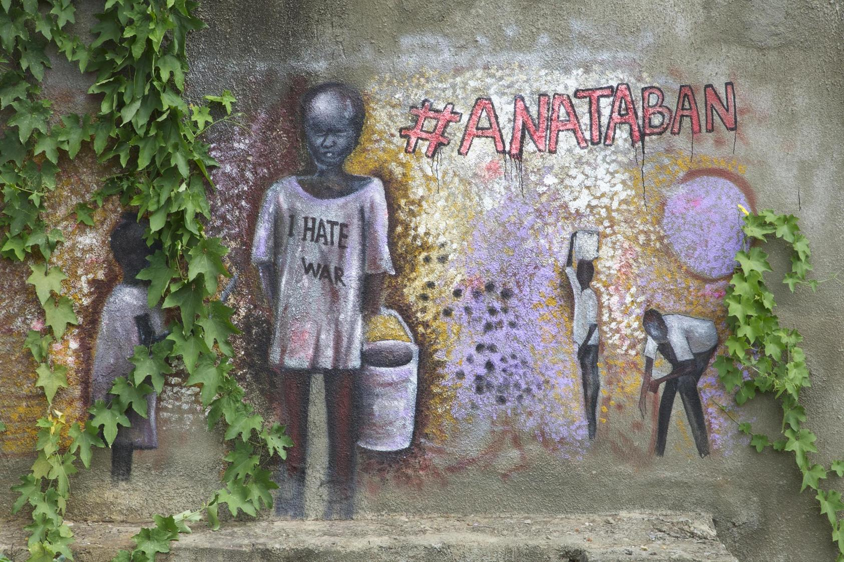 Anataban Street Art in Juba, South Sudan
