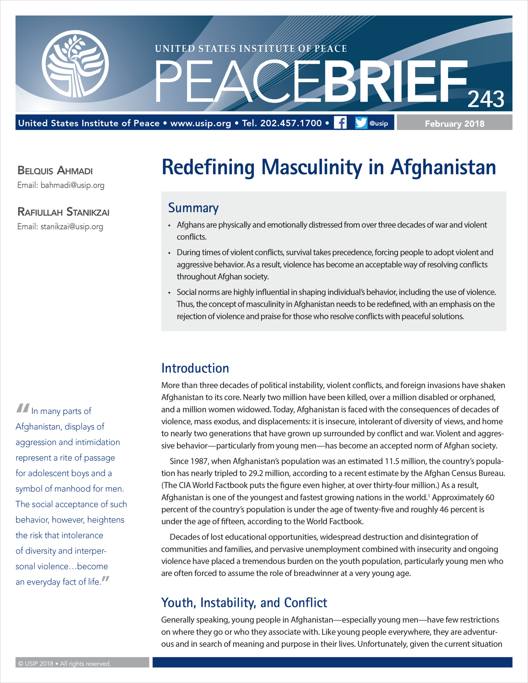 february 2015 tuvalu home.htm redefining masculinity in afghanistan united states institute of  redefining masculinity in afghanistan