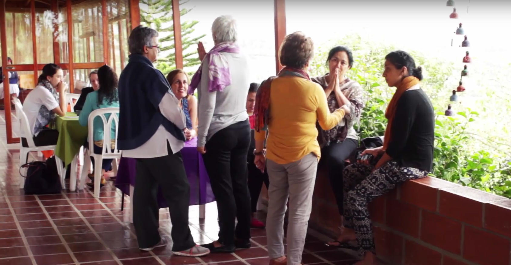 Colombian women mediators taking part in a dialogue in Colombia. Photo by USIP